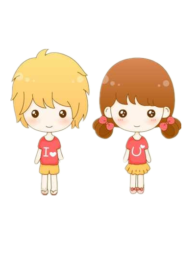 K.o.p.e.l. clipart kawaii Cute Couple on LennSoshi by