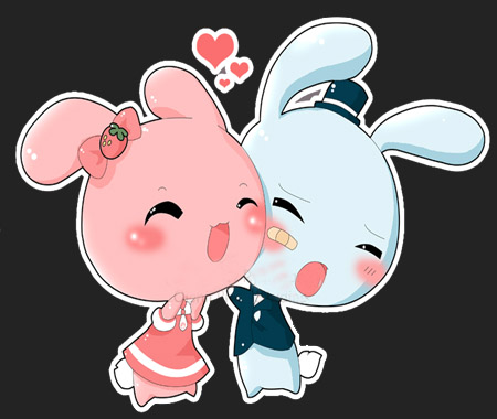 K.o.p.e.l. clipart kawaii Bunnys enthusiasts! Glitter for kawaii