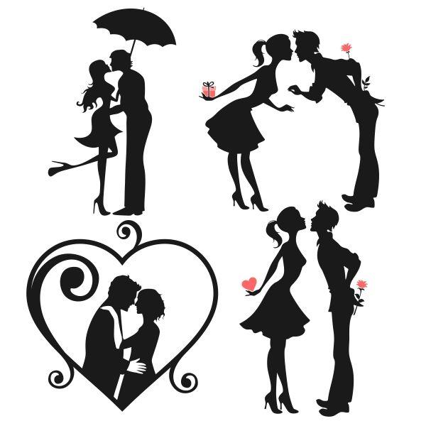 Kopel clipart love other Pinterest silhouette Best ideas Couple