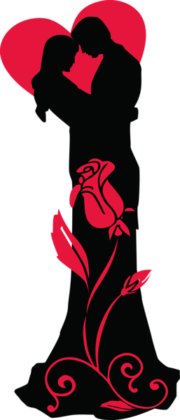 Kopel clipart love png Transparent Red Rose Heart PNG