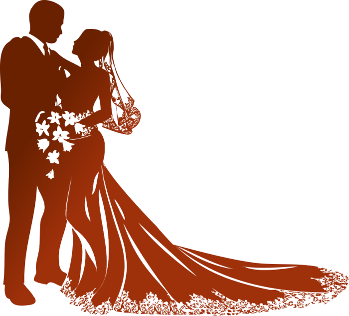 Bride clipart transparent #13