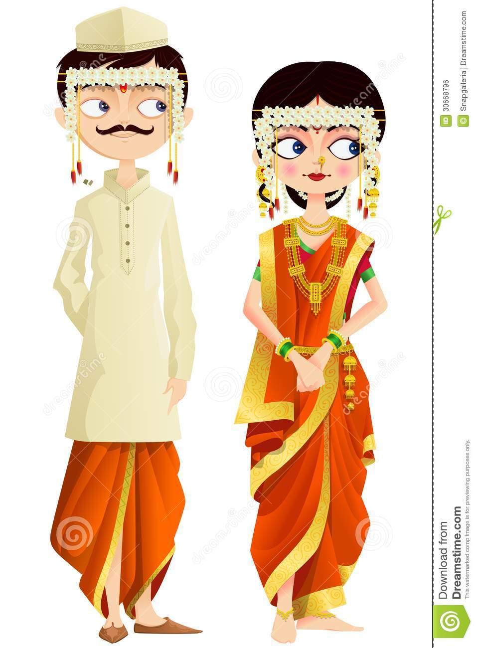 K.o.p.e.l. clipart marathi Clipart Wedding 05 Art Marathi