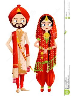 Coture clipart indian couple Couple Wedding especiais Wedding From