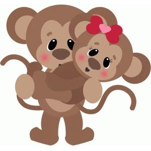 Kopel clipart monkey Design monkey #73307: #73307: Silhouette