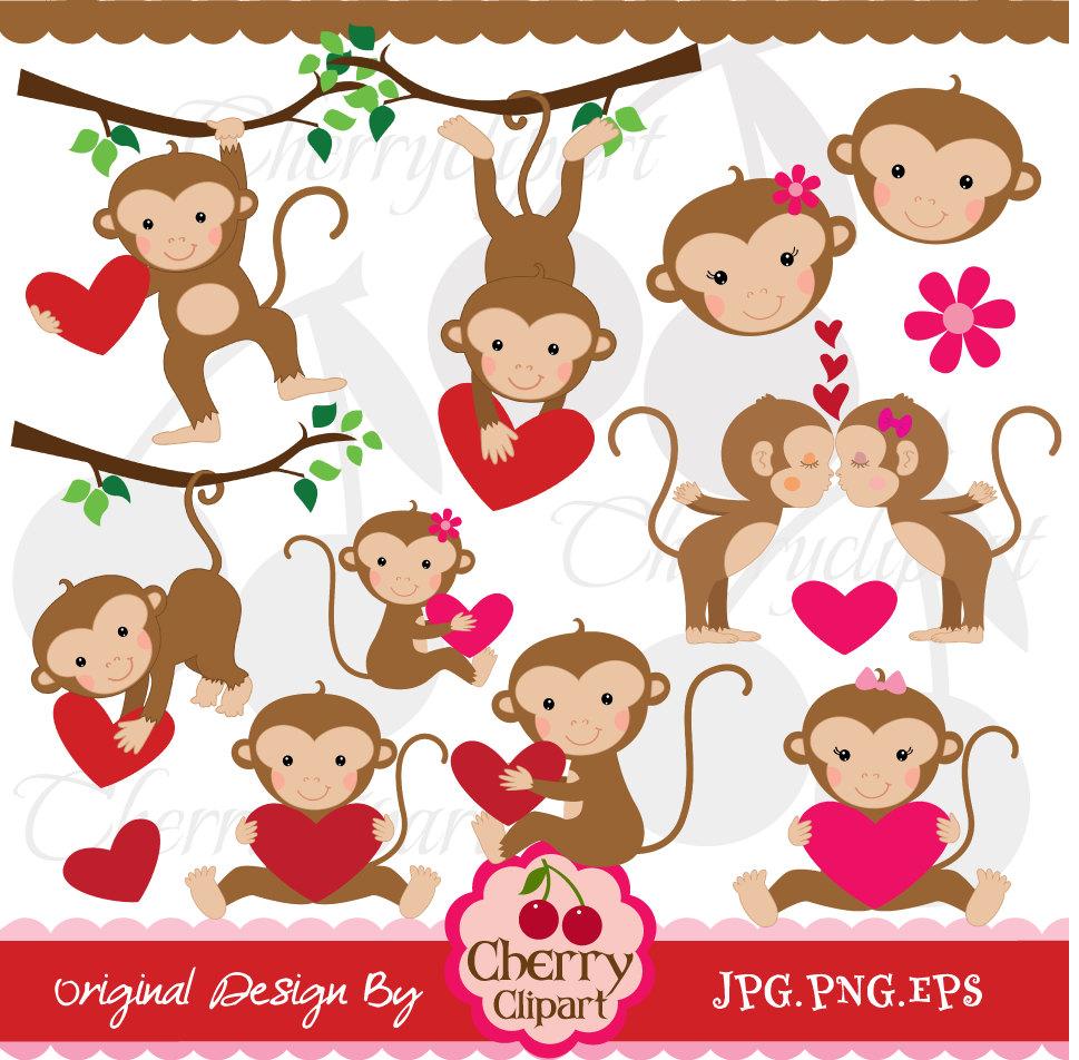 Kopel clipart monkey Vector Monkey  Monkey Monkey