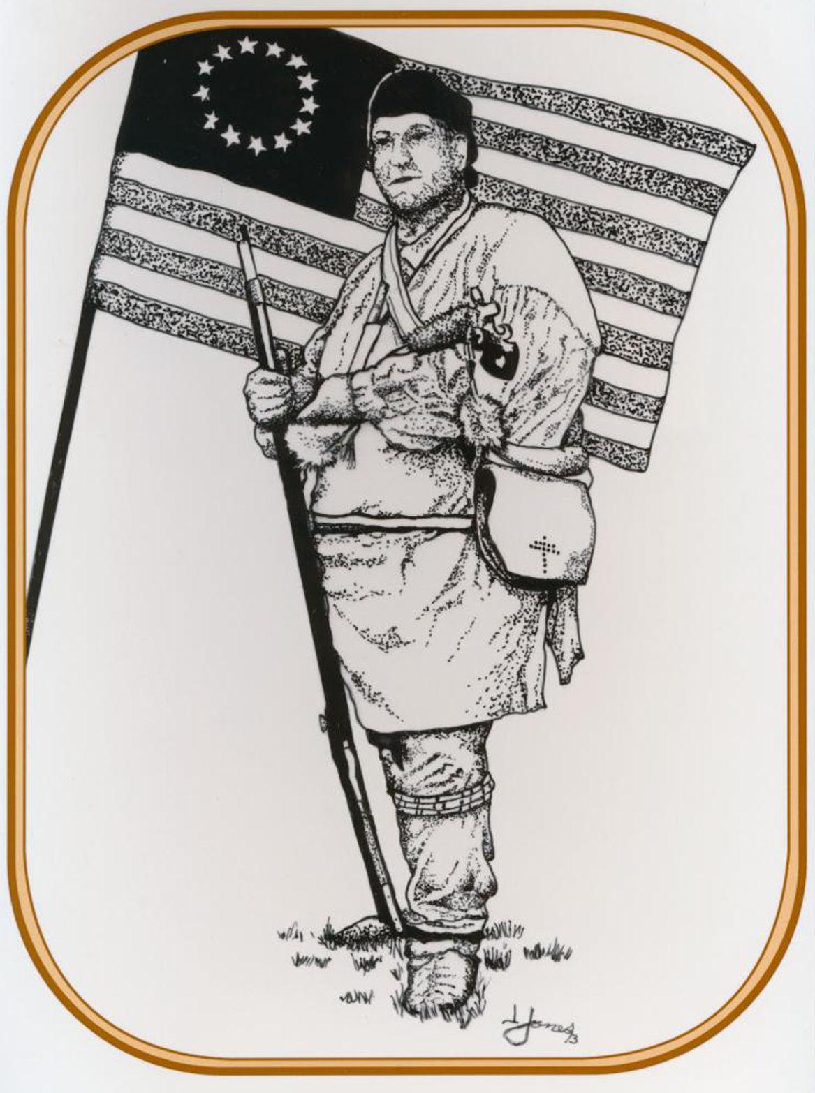 Kopel clipart native american Beaver Lawrence behind heritage sketch