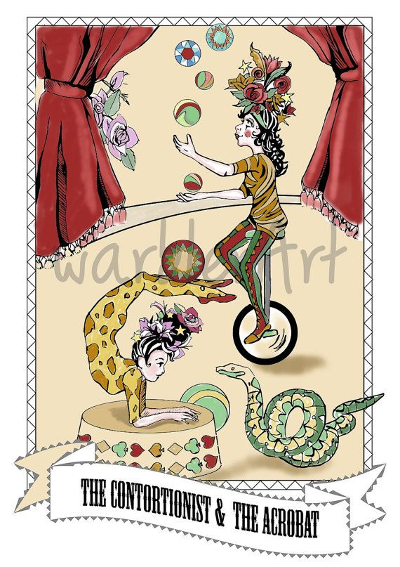 Kopel clipart old couple At really Circus https://www Etsy