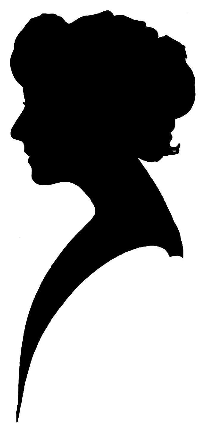 Kopel clipart old fashioned Free Art Silhouette Women on