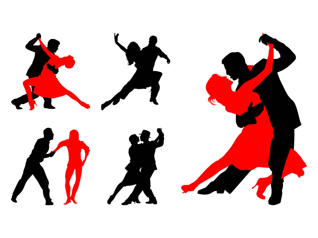 Kopel clipart red Clipart dancing clipart Collection Couple