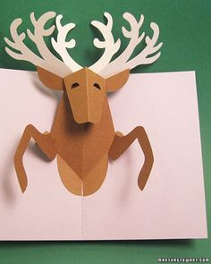 K.o.p.e.l. clipart reindeer Cards Up up  Detail