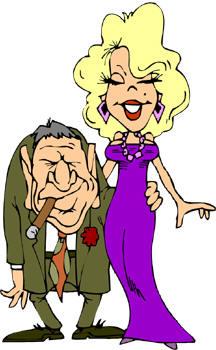 K.o.p.e.l. clipart rich Cartoon Self Charity people or