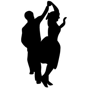Meringue clipart mambo dance Couple Dance Fifties Polyvore clip