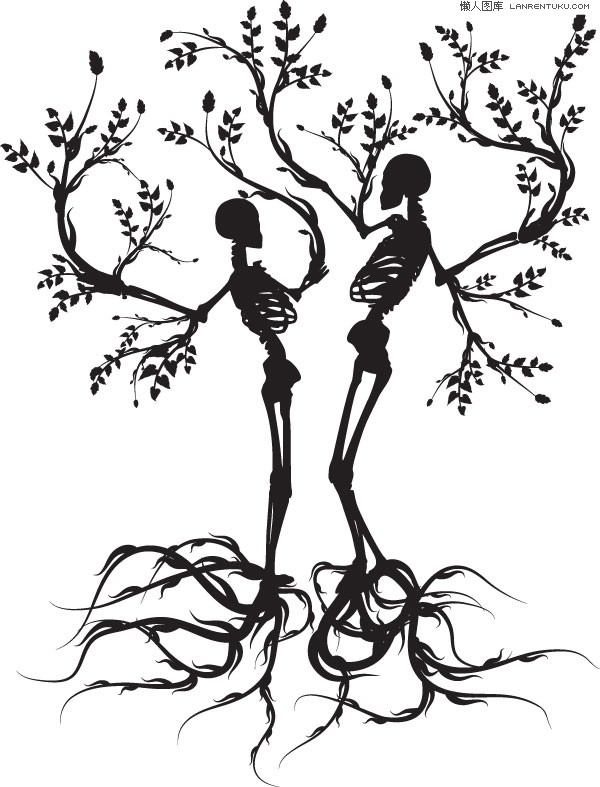 Kopel clipart skeleton 2 and Skeleton Grateful Silhouette