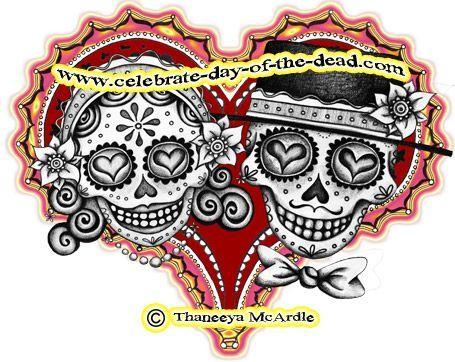 Ssckull clipart couple Ideas tattoo Skull skull Best