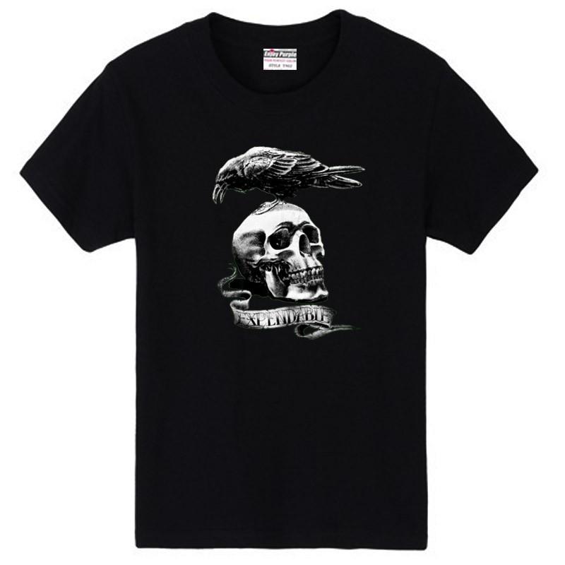 Ssckull clipart couple Shirt Clip Raven cotton THE