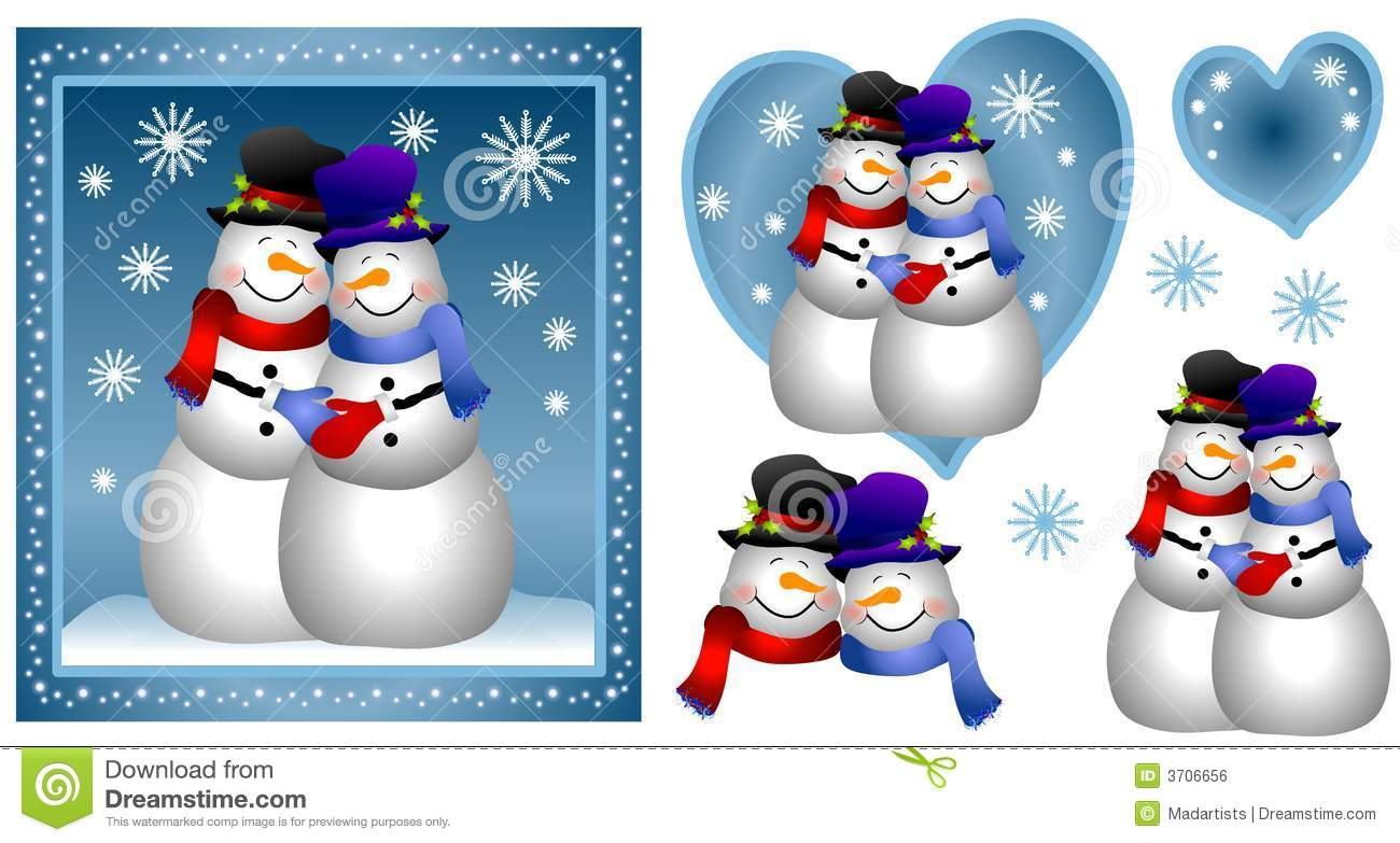 Kopel clipart snowman – Couple Couple 15 Art