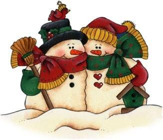 Kopel clipart snowman CLIP images COUPLE on 1475
