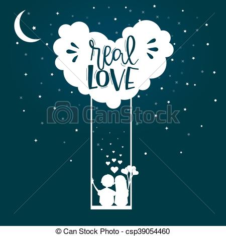 K.o.p.e.l. clipart true love Day Art on poster in