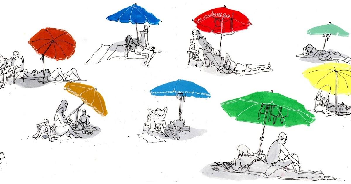 K.o.p.e.l. clipart umbrella  Urban Sketchers sketches II