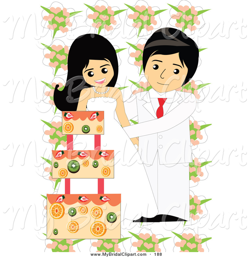 Wedding Cake clipart bridal couple Wedding 6 Bridal Page Stock