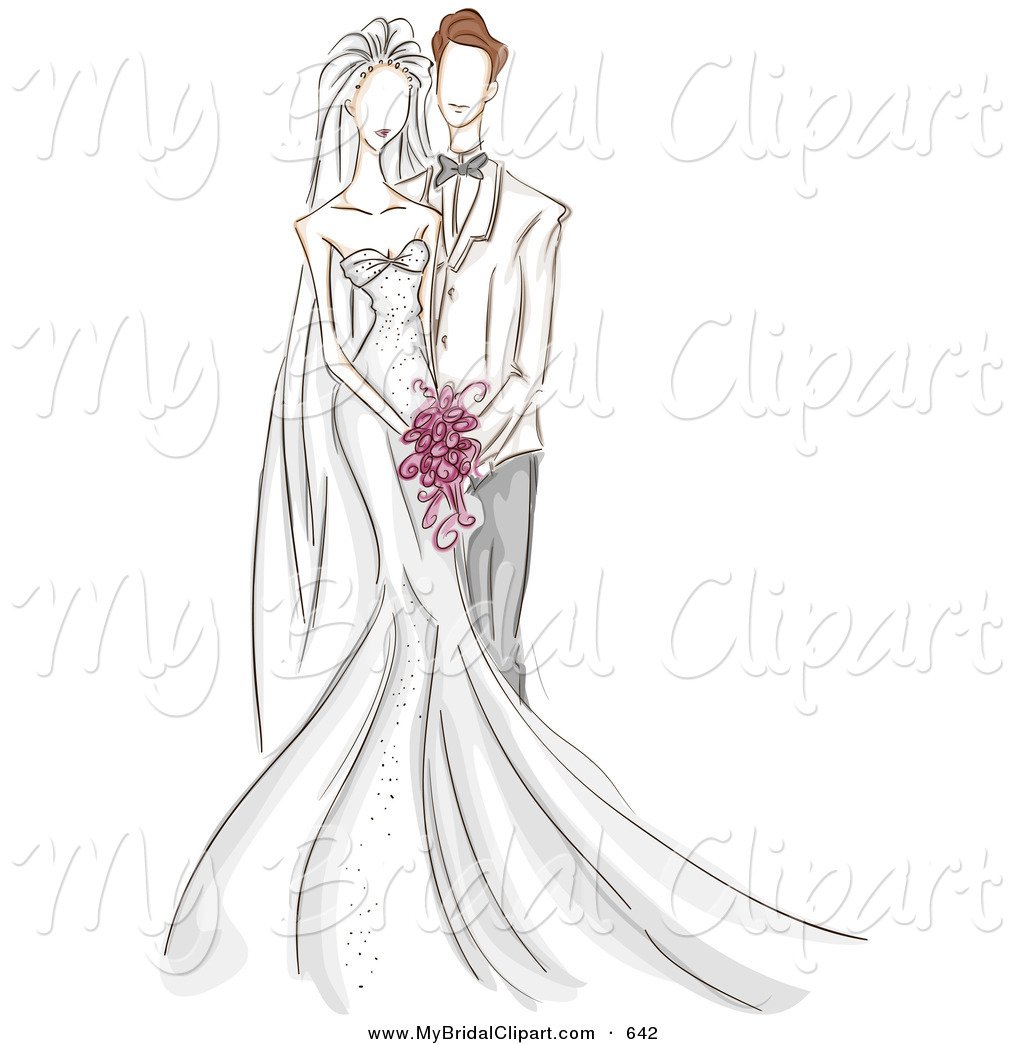 K.o.p.e.l. clipart wedding day Groom the Day Beside Sketched