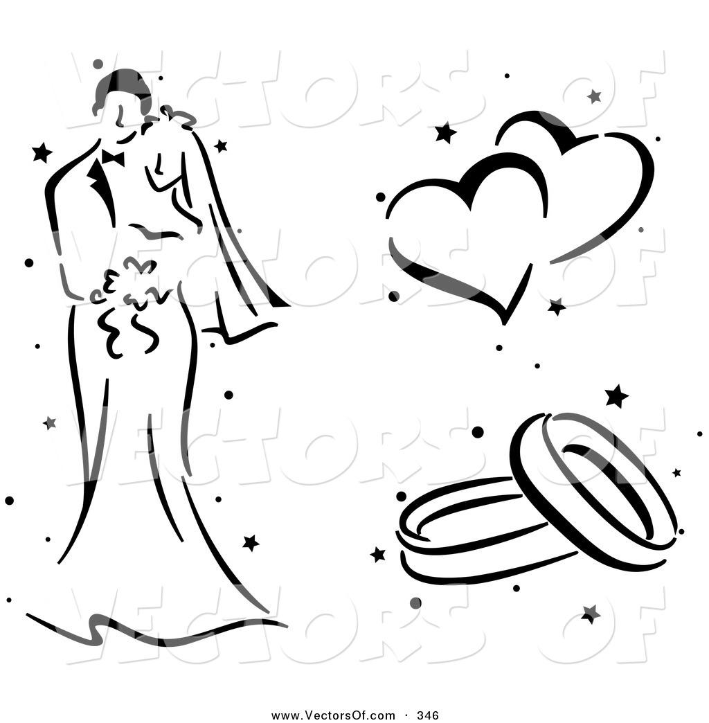 Couple clipart wedding vector Free Clip White Art Art