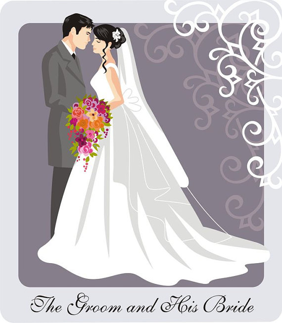 Wedding clipart couple And Clip collection Couple wedding