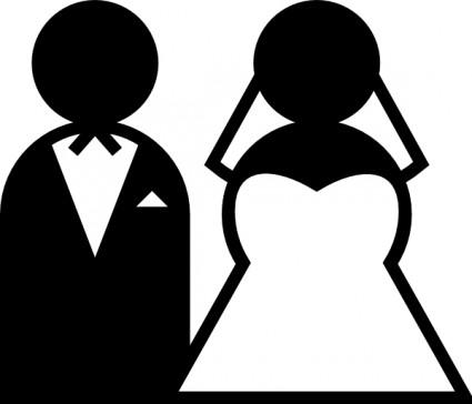 Couple clipart wedding vector For Download clip Clip clip