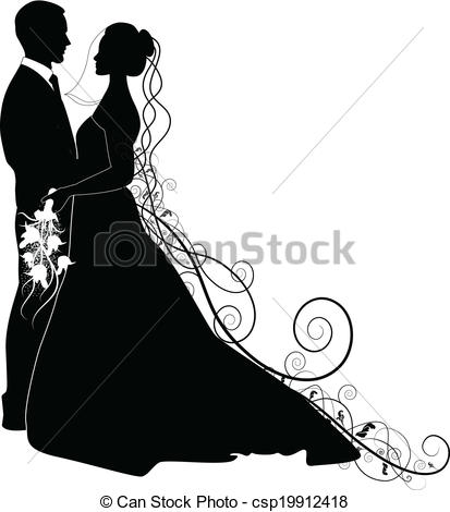 Wedding clipart couple Clip Artby Wedding 253 COUPLE