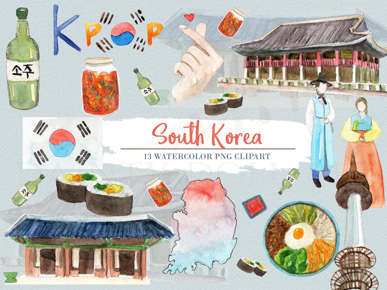 Korea clipart asia Clipart Download Asia Digital Travel