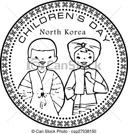 Korea clipart children's day Festive Children's  Korea Children's
