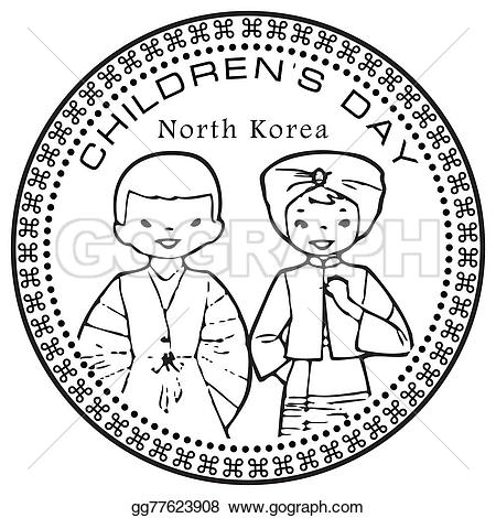 Korea clipart children's day Illustration Clipart north Drawing day