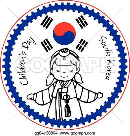 Korea clipart children's day Illustration korea Clipart south 5