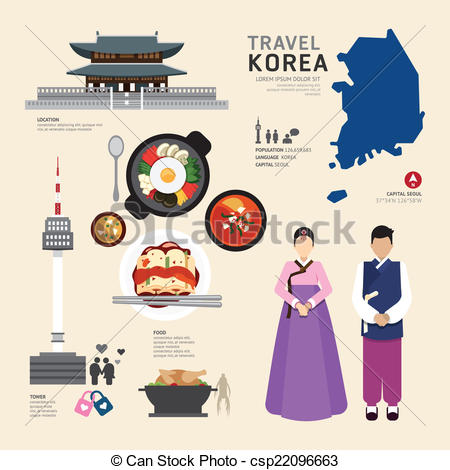 Korea clipart graphic design Vector Icons Travel  Icons
