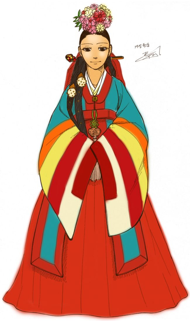 Korea clipart hanbok A seong about 〰❤ Gae