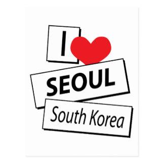 Korea clipart i love I Postcards Postcard South Love