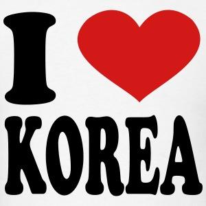 Korea clipart i love Spreadshirt I T Shop T