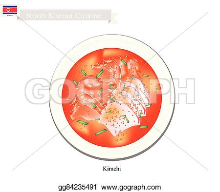 Korea clipart kimchi Vector North seasoned Kimchi Clipart