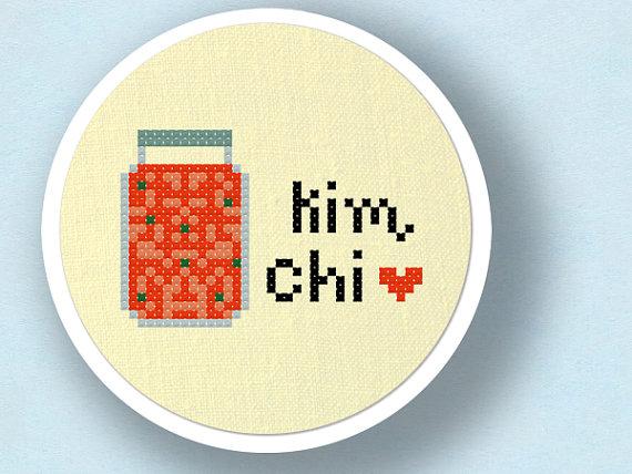 Korea clipart kimchi Patterns Stitch 2 Korean Cross