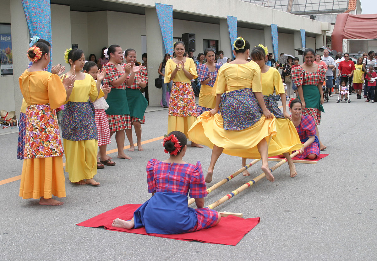 Philipines clipart philippine folk dance  Tinikling Wikipedia