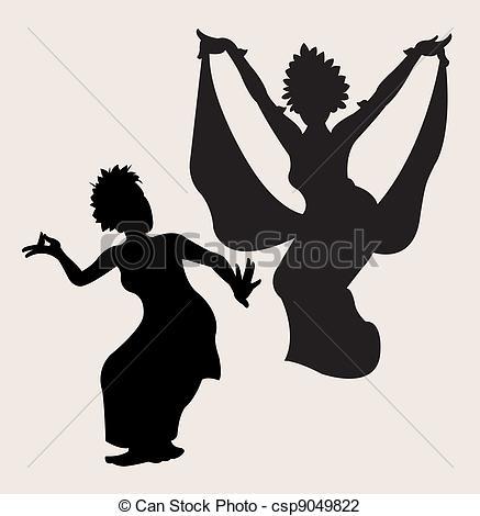 Danse clipart logo Silhouette Traditional Illustration Vector