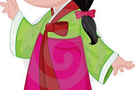 Korean clipart Clip Korean Art Korea Panda