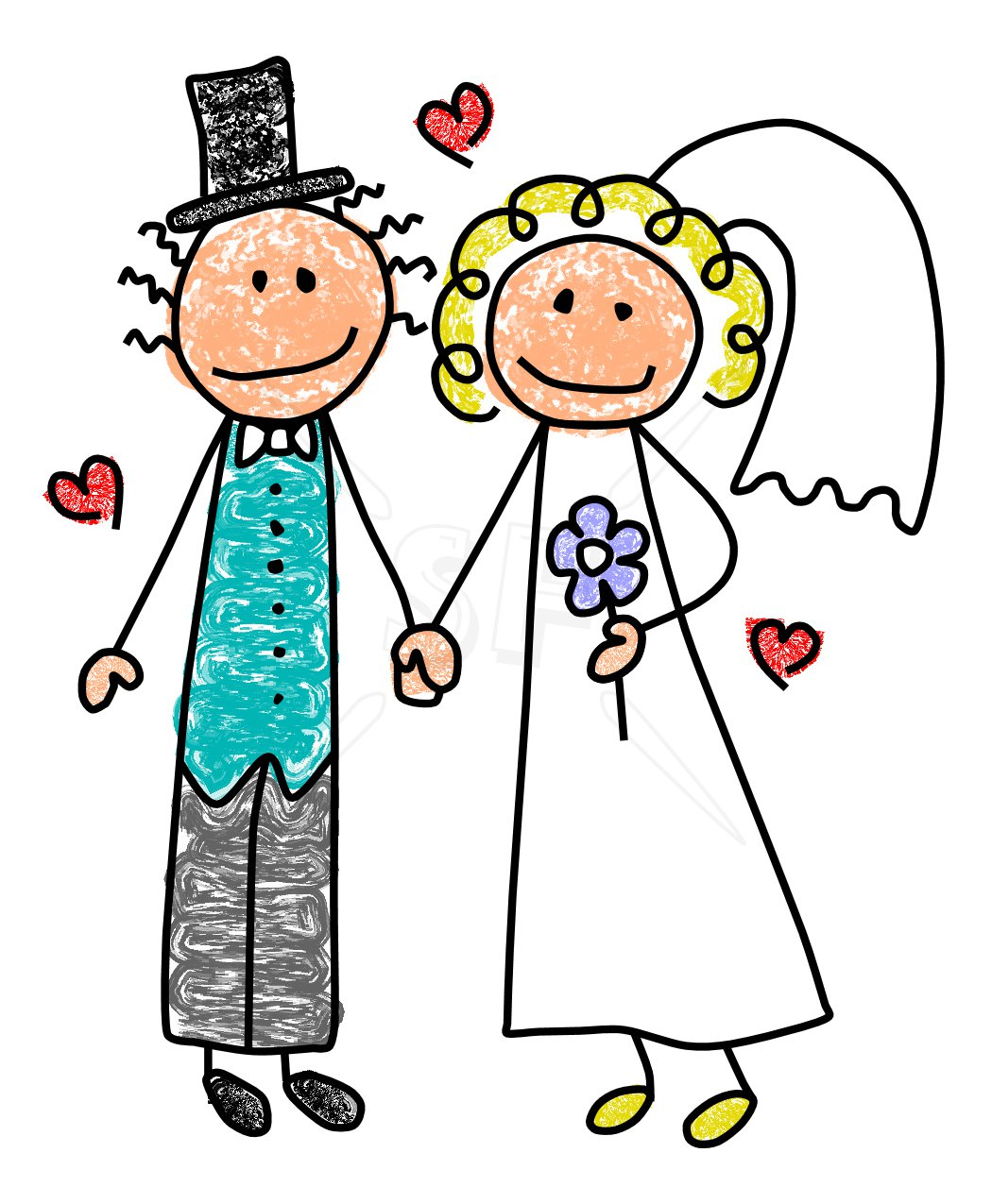Korean clipart bride and groom Clipart library Bride Groom