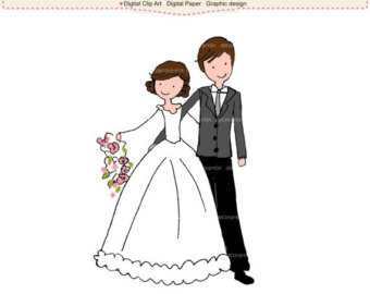 Korean clipart bride and groom Clipart Wedding ON clipart wedding
