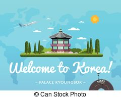 Korean clipart castle Poster with famous Clip Welcome