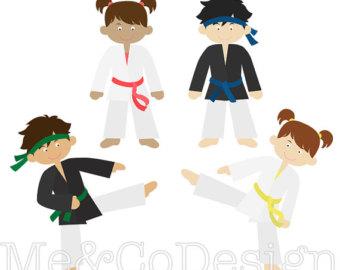 Korean clipart kid martial art Karate Arts Martial clipart Download
