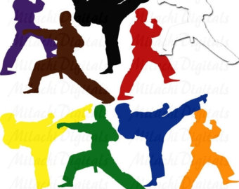 Martial Arts clipart marsal Karate Clipart Art Clip Use