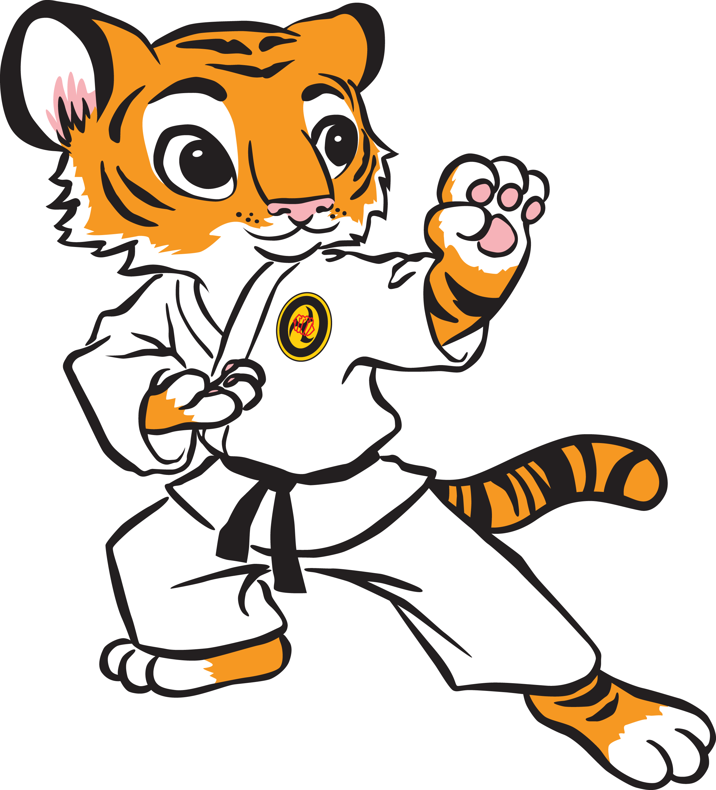 Korean clipart kid martial art Karate and Cliparts Inspiration Others