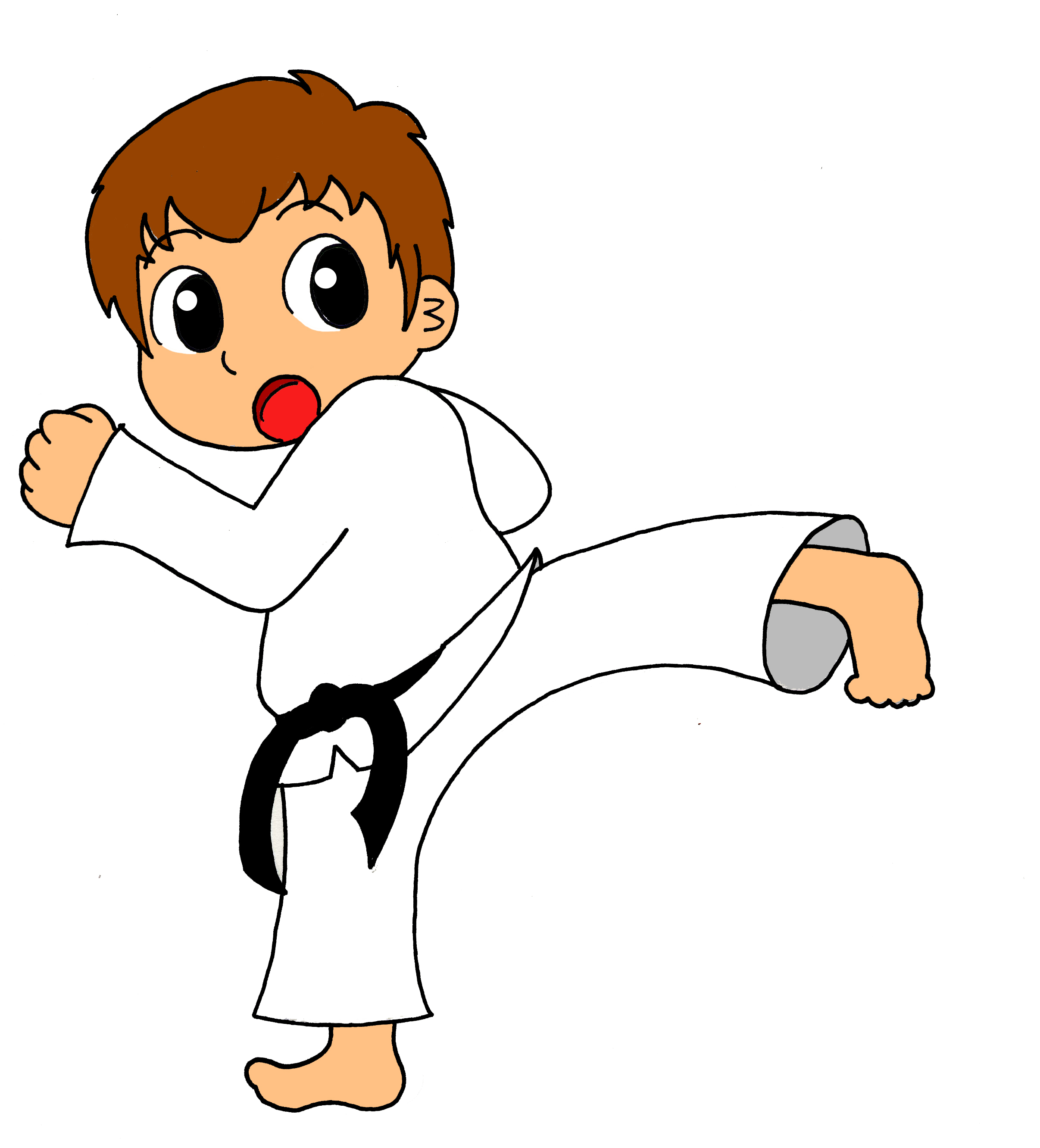 Martial Arts clipart cartoon Art Cliparts Korean and Martial