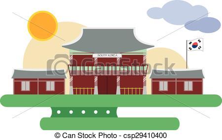 Palace clipart korean #7